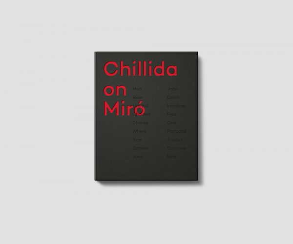 Chillida on Miró Book Cover