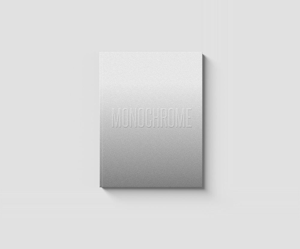 Monochrome Book Cover